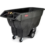 Rubbermaid 1022 Motorized Tilt Truck - 1000 lb. weight capacity - 1 cu. yard volume capacity