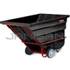 "Rubbermaid 1026 Tilt Truck, Heavy Duty (Rotational Molded) - 80.5"" L x 43"" W x 49.5"" H - 1 1/2 cu yd - 2100 lb. capacity"