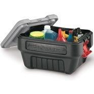 "Rubbermaid 1172 ActionPacker� Storage Container - 26.06"" L x 16.94\"" W x 18.56\"" H - 24 Gallon Capacity"