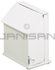 "Rubbermaid 135 Single Stall with Foot Pedal Sanitary Napkin - White - 9.5"" W x 11"" H x 5.75"" D"