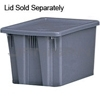"Rubbermaid 1721 Palletote® Box - 19.5"" L x 15.5"" W x 10"" H - 1.3 cu. ft. capacity"