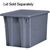"Rubbermaid 1732 Palletote® Box - 23.5"" L x 19.5"" W x 13"" H - 2.6 cu. ft. capacity"