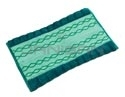 "Rubbermaid 1791793 Double-Sided Microfiber Dust Mop - 17.5"" L x 12"" W x .5"" H - Green in Color"