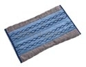 "Rubbermaid 1791795 Double-Sided High Absorbency Mop Plus Microfiber Pad - 17.5"" L x 12"" W x 1"" H - Blue in Color"