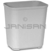 Rubbermaid 2543 Fire Resistant Wastebasket - Large - 28 U.S. Quart Capacity