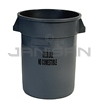 "Rubbermaid 2632-56 BRUTE� Container without Lid with ""Inedible"" Black Imprint, English and Spanish"