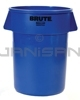 Rubbermaid 2643 BRUTE� Container without Lid - 44 US Gallon Capacity