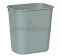 Rubbermaid 29558 Wastebasket, Small - 13 5/8 U.S. Quart Capacity - Gray in Color