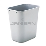 Rubbermaid 29568 Wastebasket, Medium - 28 1/8 U.S. Quart Capacity - Gray in Color