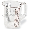 Rubbermaid 3216 Bouncer� Measuring Cup - 1 quart capacity