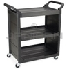 "Rubbermaid 3421 Utility Cart with 3"" dia. Swivel Casters and End Panels - 33.63"" L x 18.63"" W x 36.63"" H - 150 lb capacity"