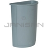 Rubbermaid 3520 Untouchable® Half Round Container - 21 U.S. Gallon Capacity