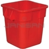 Rubbermaid 3526 Square BRUTE� Container without Lid - 28 US Gallon Capacity
