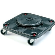 Rubbermaid 3530 Square BRUTE� Dolly for 3526, 3536 Containers