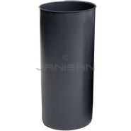 "Rubbermaid 3552 Rigid Liner with Rim for 8170-88, 8180-88, 8182-88 Containers - 22 Gallon Capacity - 14.5"" Dia. x 30.13\"" H"