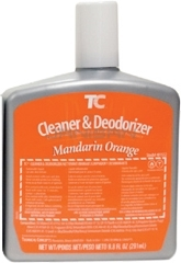 Technical Concepts TC AutoClean Cleaner & Deodorizer Refills - Mandarin Orange - 1 case of 6