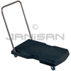 "Rubbermaid 4400 Triple� Trolley, Utility Duty with Straight Handle and 3"" Casters - 32.5"" L x 20.5"" W - 250 lb capacity"
