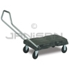 "Rubbermaid 4401 Triple� Trolley, Standard Duty with User-Friendly Handle and 5"" dia x 7/8"" w Casters - 32.5"" L x 20.5"" W - 500 lb capacity"