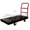"Rubbermaid 4441 Heavy-Duty Platform Truck, 8"" dia x 2"" wide Polyolefin Casters, Crossbar Handle - 48"" L x 24"" W - 2000 lb capacity"