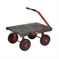 "Rubbermaid 4475 5th Wheel Wagon Truck - 24� x 36� - 1200 lb capacity - 12"" Pneumatic Wheels"
