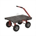 "Rubbermaid 4476 5th Wheel Wagon Truck - 24� x 36� - 2000 lb capacity - 12"" TPR Wheels"