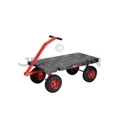 "Rubbermaid 4477 5th Wheel Wagon Truck - 24� x 48� - 2000 lb capacity - 12"" Pneumatic Wheels"