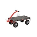 "Rubbermaid 4478 5th Wheel Wagon Truck - 24� x 48� - 2000 lb capacity - 12"" TPR Wheels"
