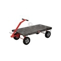"Rubbermaid 4480 5th Wheel Wagon Truck - 30� x 60� - 2000 lb capacity - 12"" TPR Wheels"