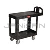 "Rubbermaid 4505 Flat Shelf Utility Cart - 37.88"" L x 19.19"" W x 33.31"" H - 500 lb capacity"