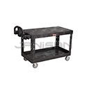 "Rubbermaid 4545 Flat Shelf Utility Cart - 54"" L x 25.25"" W x 36"" H - 500 lb capacity"