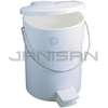 Rubbermaid 6142 Step-On Can with Rigid Liner