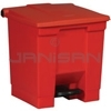 Rubbermaid 6143 Step-On Container - 8 U.S. Gallon Capacity
