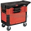 Rubbermaid 6180-88 Trades Cart with Locking Cabinet Includes 2 parts boxes and 4 parts bins
