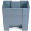 "Rubbermaid 6245 Rigid Liner fits 6145 Container - 15 Gallon Capacity - 18"" L x 12.25"" W x 22"" H"