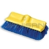 "Rubbermaid 6337 Floor Scrub, Plastic Block, Bi-level, Polypropylene Fill - 10"" in Length - 2"" Trim Length"