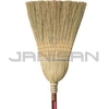 "Rubbermaid 6384 Corn Broom, Warehouse, 1 1/8"" dia Stained/Lacquered Handle"
