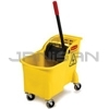 Rubbermaid 7380 Tandem� 31 Qt Mop Bucket and Wringer Combo
