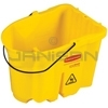 Rubbermaid 7571-88 WaveBrake� Bucket, no Casters - 35 Qt. Capacity - 4 pack