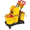 Rubbermaid 7777 WaveBrake� Mopping Trolley Down Press