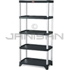"Rubbermaid 9T39 Shelving, 5-Shelf Unit - 35.13"" L x 20"" W x 71.38"" H - 800 lb capacity"