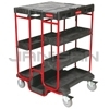 "Rubbermaid 9T57 Ladder Cart - 31.5"" L x 27"" W x 42"" H"