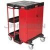 "Rubbermaid 9T58 Ladder Cart with Cabinet - 31.5"" L x 27"" W x 42"" H"