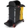 Rubbermaid High Security Healthcare Cleaning Cart