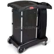 Rubbermaid 9T77 Turndown Housekeeping Cart