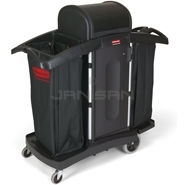 Rubbermaid 9T78 High Security Housekeeping Cart