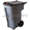 Rubbermaid 9W21 BRUTE® Rollout Container - 65 Gallon Capacity