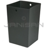 "Rubbermaid 9W64 Square Rigid Liner for Infinity 50 U.S. gal 9W51 and 9W56 Panel Kits - 19.5"" Sq. x 36"" H"