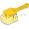 "Rubbermaid 9B29 Short Plastic Handle Utility Brush, Synthetic Fill - 8"" in Length - 2"" Trim"