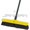 "Rubbermaid 9B01 Plastic Foam Block, Fine Floor Sweep, Tampico Fill with Horsehair Border - 18"" in Length - 2 7/8"" Trim"