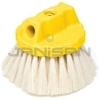 "Rubbermaid 9B39 Wash Brush, Round Block, Tampico Fill - 5"" in Length - 3 1/4"" Trim Length"
